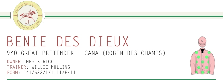 .Preview Article Horse Name Header Image - Benie Des Dieux