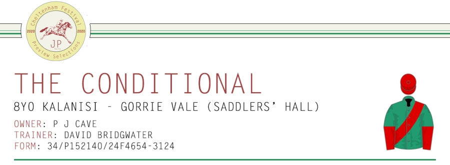 .Preview Article Horse Name Header Image - The Conditional