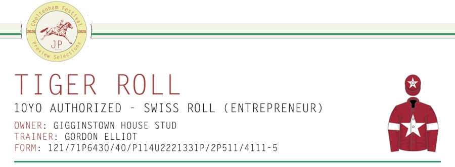 .Preview Article Horse Name Header Image - Tiger Roll